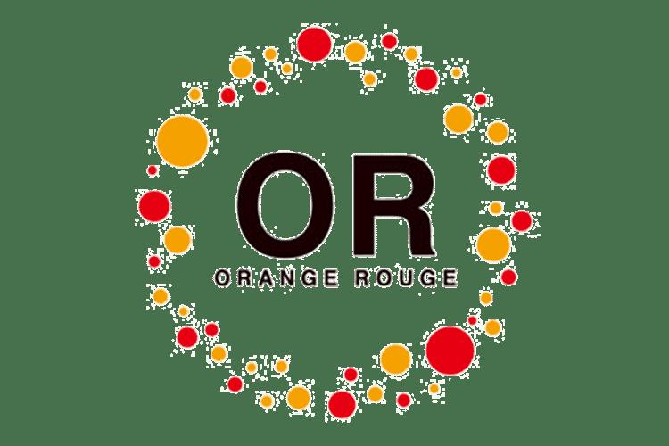 marque de figurine orange rouge