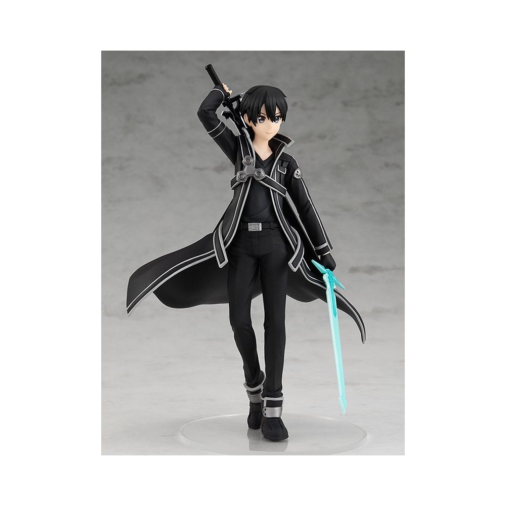 figurine de kirito dans le manga sword art online