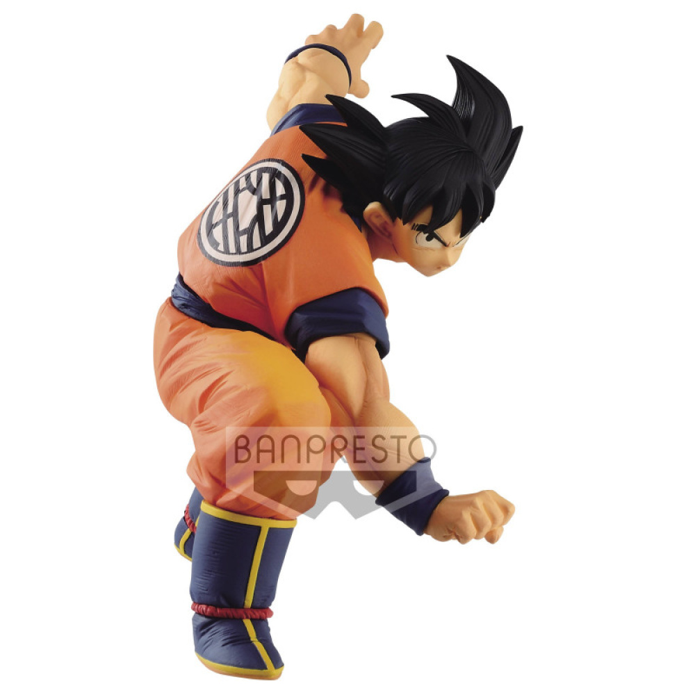 figurine de son goku manga dragon ball super banpresto